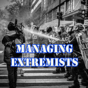 Managing Extremists police training