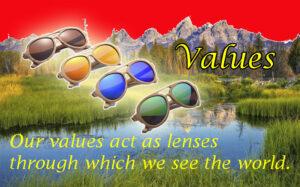 I think Values Act Like Lenses