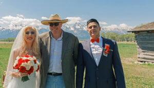 Wedding officiant in jackson hole